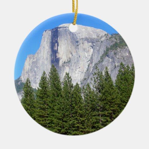 Yosemite Half Dome Ornaments