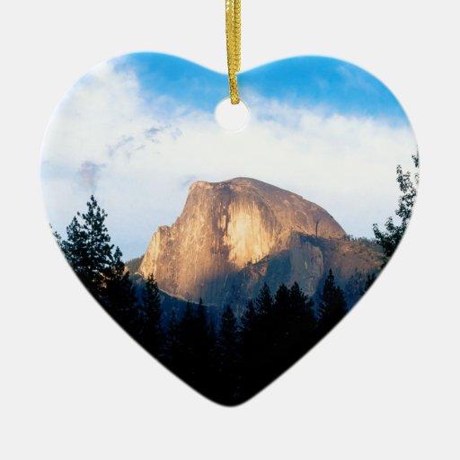 Yosemite Half Dome Park Christmas Tree Ornament
