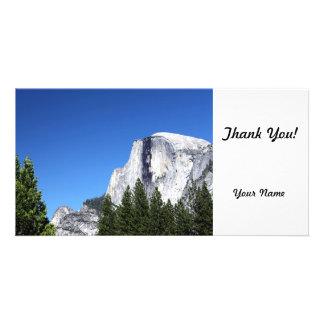 Yosemite Half Dome Personalized Photo Card