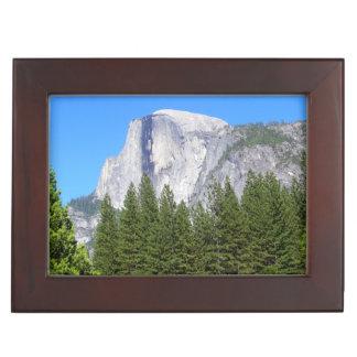Yosemite Half Dome Memory Boxes