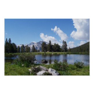 Yosemite High Country Poster