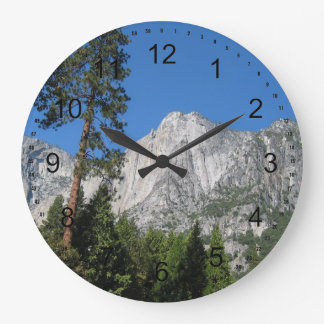 Yosemite in California Large Clock