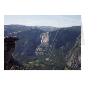 Yosemite in Spring:  Glacier Point View Card