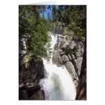 Yosemite in Springtime:  Chilnualna Falls Stationery Note Card