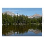 Yosemite Lake Reflection Card