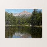 Yosemite Lake Reflection Jigsaw Puzzle