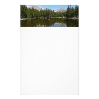 Yosemite Lake Reflection Stationery