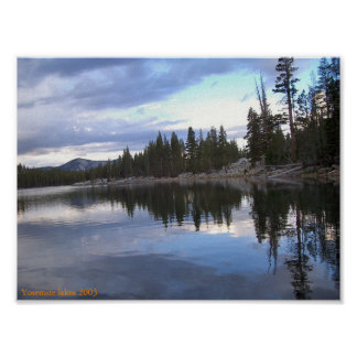 Yosemite lakes 2003 poster