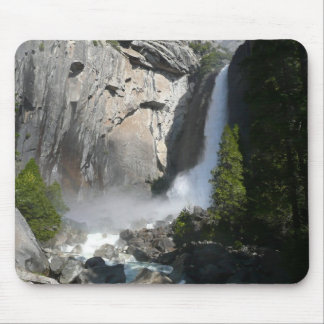 Yosemite Lower Falls from Yosemite National Park Mouse Pad