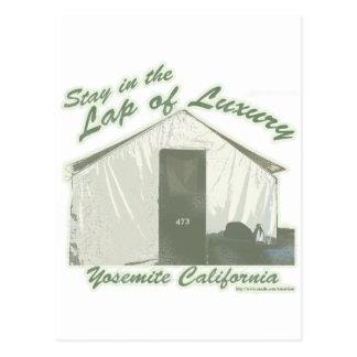 Yosemite Luxury Postcard
