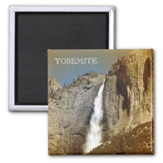 Yosemite Magnet. 2 Inch Square Magnet