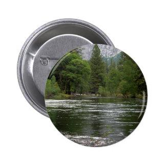 Yosemite Merced River Button