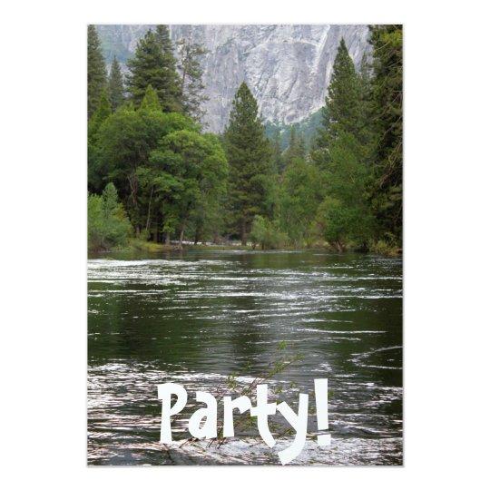 Yosemite Merced River Card