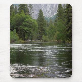 Yosemite Merced River Mouse Pad