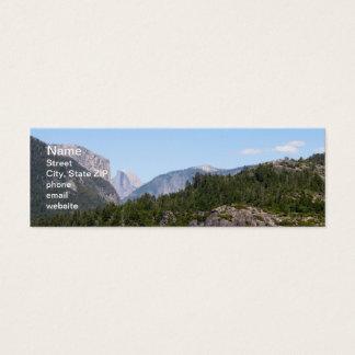 Yosemite Mini Business Card