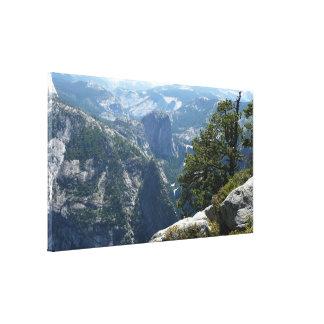 Yosemite Mountain View in Yosemite National Park Canvas Print
