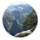 Yosemite Mountain View in Yosemite National Park Ceramic Knob