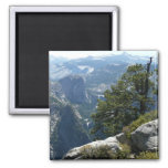 Yosemite Mountain View in Yosemite National Park Magnet