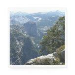 Yosemite Mountain View in Yosemite National Park Paper Napkin