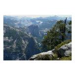 Yosemite Mountain View in Yosemite National Park Poster