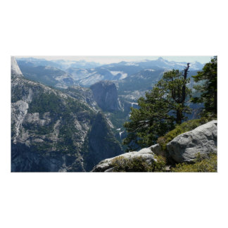 Yosemite Mountain View in Yosemite National Park Poster