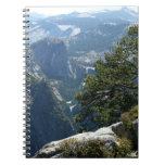 Yosemite Mountain View in Yosemite National Park Spiral Notebook