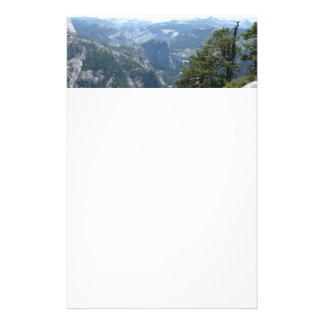 Yosemite Mountain View in Yosemite National Park Stationery