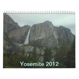 Yosemite National Park 2012 Calendar
