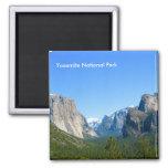 Yosemite National Park 2 Inch Square Magnet