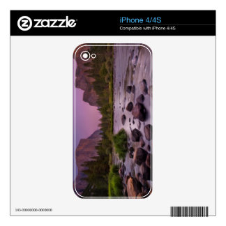 Yosemite National Park at Dusk Decal For iPhone 4