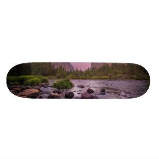 Yosemite National Park at Dusk Skateboard