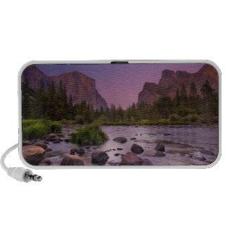 Yosemite National Park at Dusk iPod Speaker