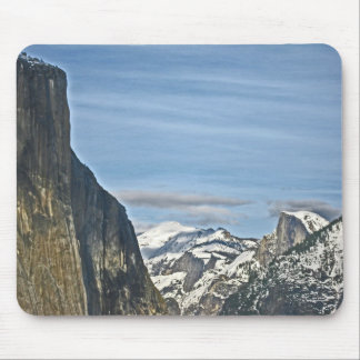 Yosemite National Park at Tunnel View Lookout Mousepads