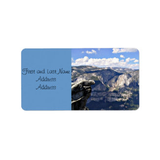 Yosemite National Park B Label