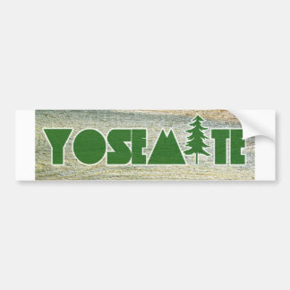 Yosemite National Park Bumper Sticker