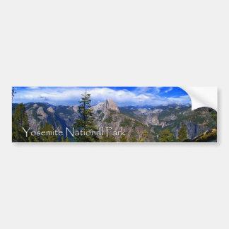 Yosemite National Park Bumper Sticker Car Bumper Sticker