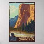Yosemite National Park, CA - El Capitan Poster