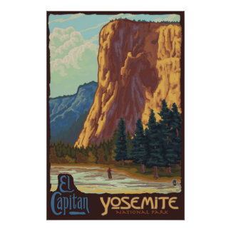 Yosemite National Park, CA - El Capitan Poster