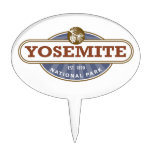 Yosemite National Park Cake Topper