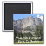 Yosemite national park, California 2 Inch Square Magnet