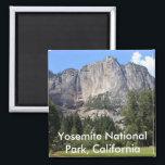 """Yosemite national park, California Magnet<br><div class=""""desc"""">famous El Capitan granite rock in Yosemite National Park,  California</div>"""