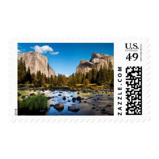 Yosemite National Park, California Stamp