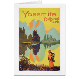 Yosemite National Park Card