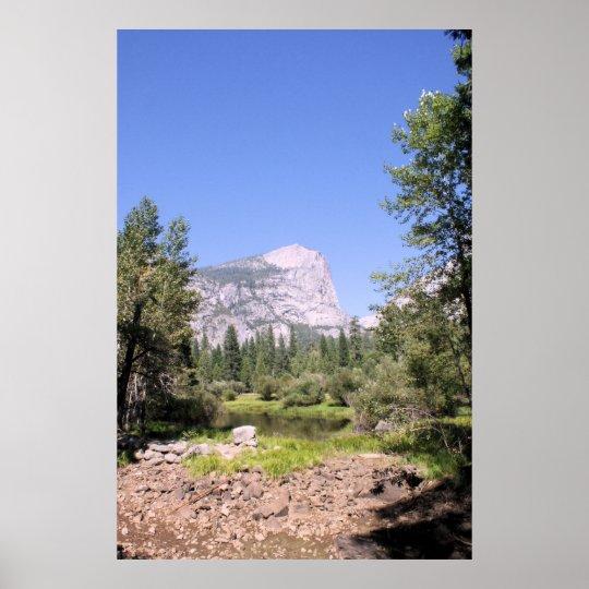 Yosemite National Park Print: Yosemite National Park Color Photo Poster Print