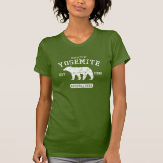 Yosemite National Park Cute Bear Tee Shirt