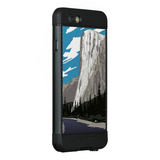 Yosemite National Park El Capitan LifeProof NÜÜD iPhone 6s Case