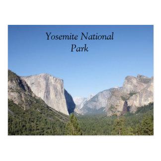 Yosemite National Park El Capitan photo Postcard