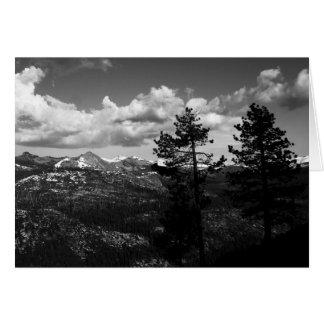 Yosemite National Park Greeting Card