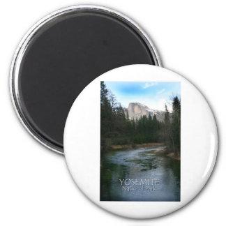 Yosemite National Park Half Dome Magnet