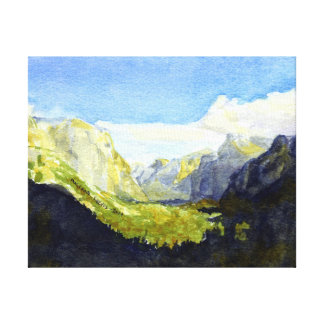 Yosemite National Park, Inspiration Point #2 Stretched Canvas Print